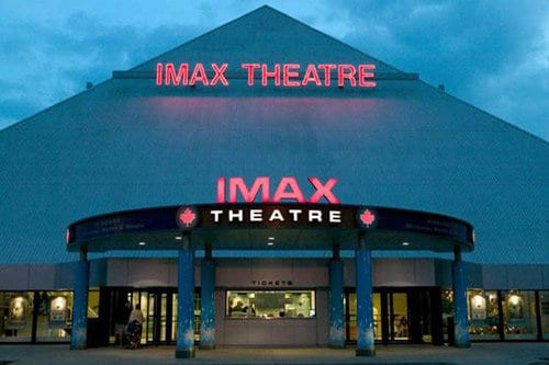IMAX theatre building at Niagara Falls