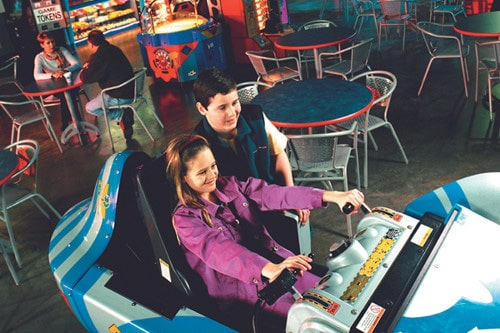 Skylon Towers arcade games