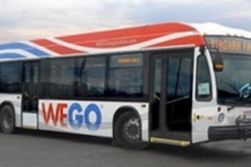 WeGo bus transit at Niagara Falls