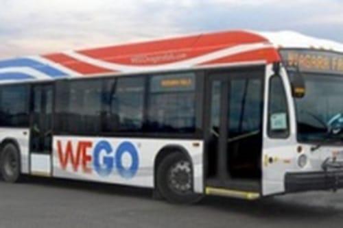 WeGo bus transit at Niagara Falls